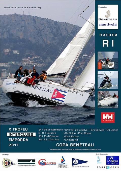 X TROFEU INTERCLUBS EMPORDÀ 2011 COPA BENETEAU
