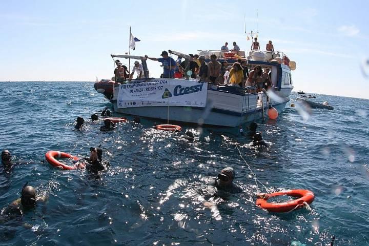 XII CAMPIONAT D'ESPANYA D'APNEA ROSES 2011