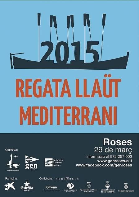 Regata Llaüt Mediterrani i Llagut Català 29 de març - Roses