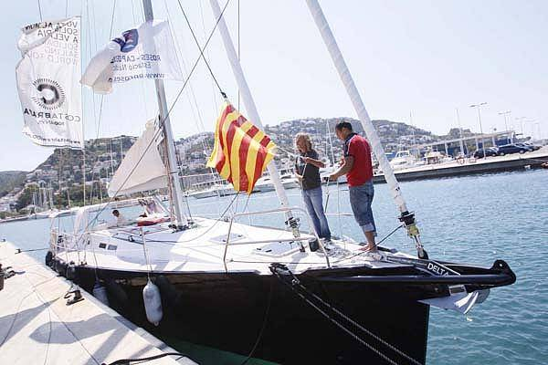 Salpa de Roses el veler que farà la volta al món