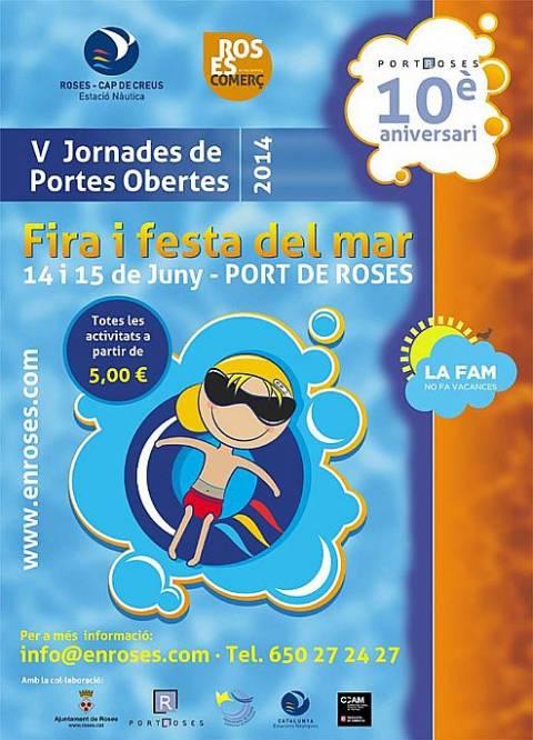 FIRA I FESTA DEL MAR ROSES 2014