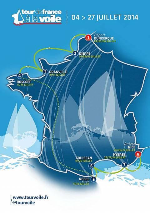 TOUR DE FRANCE À LA VOILE 2014 - ROSES