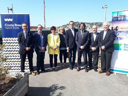 Promoció del port de Roses com a destinació de grans eslores