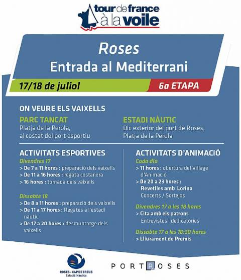 TOUR DE FRANCE À VOILE 2015 ROSES