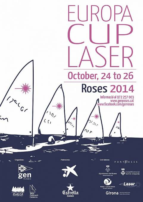 LASER EUROPA CUP SPAIN - ROSES 2014