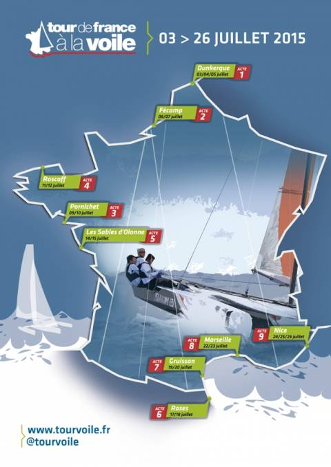 PRESENTACIÓ EN PARIS DEL TOUR DE FRANÇA A VELA 2015
